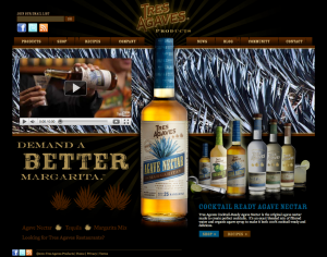 Homepage Tres Agaves Products