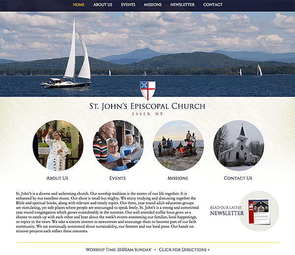 St. John's Episcopal Church website